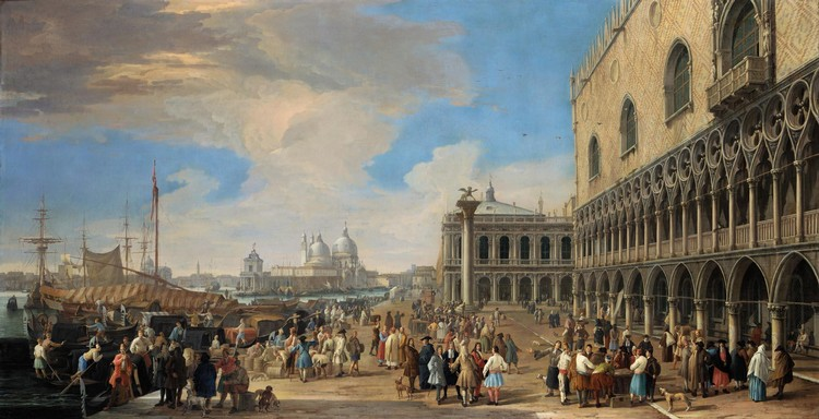 THE PROPERTY OF THE KIPLIN HALL CHARITABLE TRUST LUCA CARLEVARIJS UDINE 1663 - 1730 VENICE VENICE,