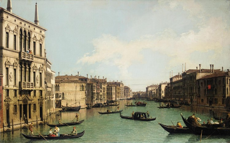 THE PROPERTY OF A LADY GIOVANNI ANTONIO CANAL, CALLED CANALETTO VENICE 1697 - 1768 VENICE, THE