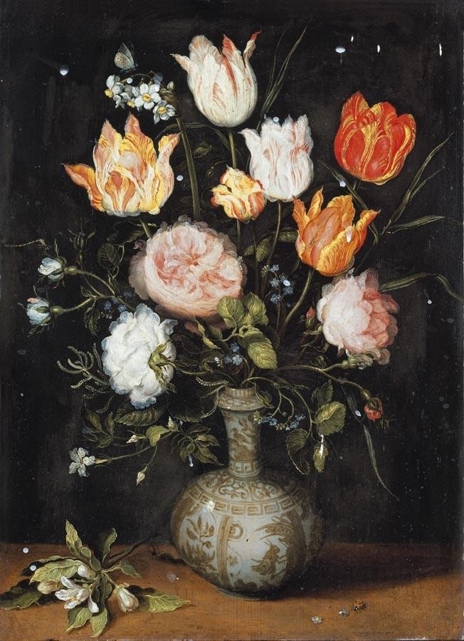PROPERTY FROM A SWISS PRIVATE COLLECTION f - JAN BRUEGHEL THE YOUNGER ANTWERP 1601 - 1678 A STILL