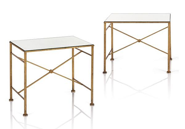 Marc du Plantier, 1901-1975 , Paire de tables d'appoint, 1941 
