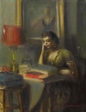 GUY PÈNE DU BOIS | Seated Woman