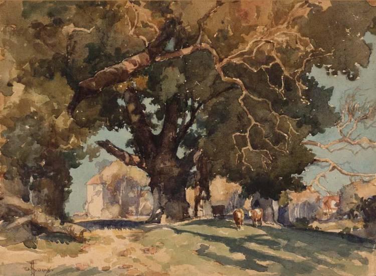 WILLIAM HYAMS, BRITISH B.1878