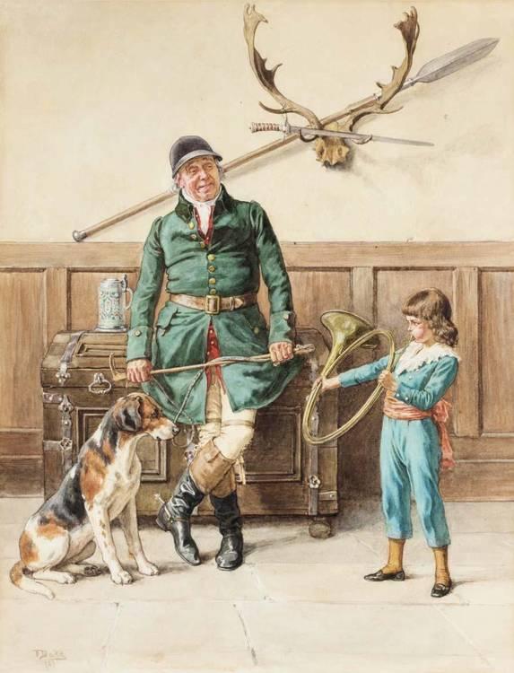 FRANK DADD, BRITISH 1851-1929