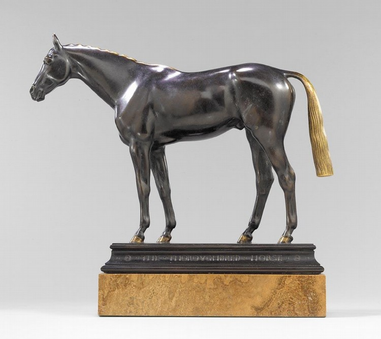 HERBERT HASELTINE AMERICAN, 1877-1962 THE THOROUGHBRED HORSE