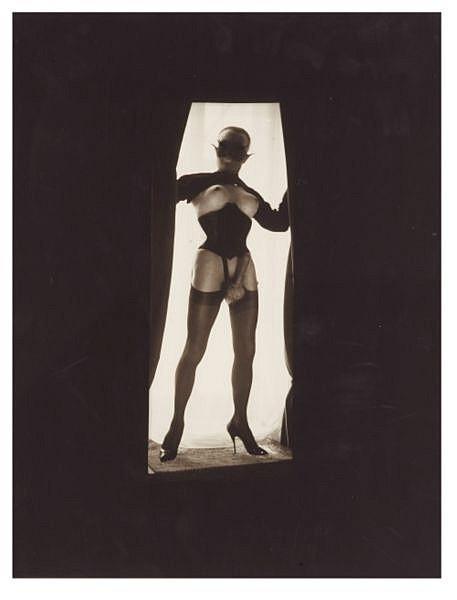 Le Chaman. Photomontage original, 1967. , Pierre Molinier