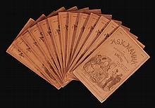 SURTEES, ROBERT SMITH. FIVE WORKS IN ORIGINAL PARTS, 1853-1865 (5 VOL.)