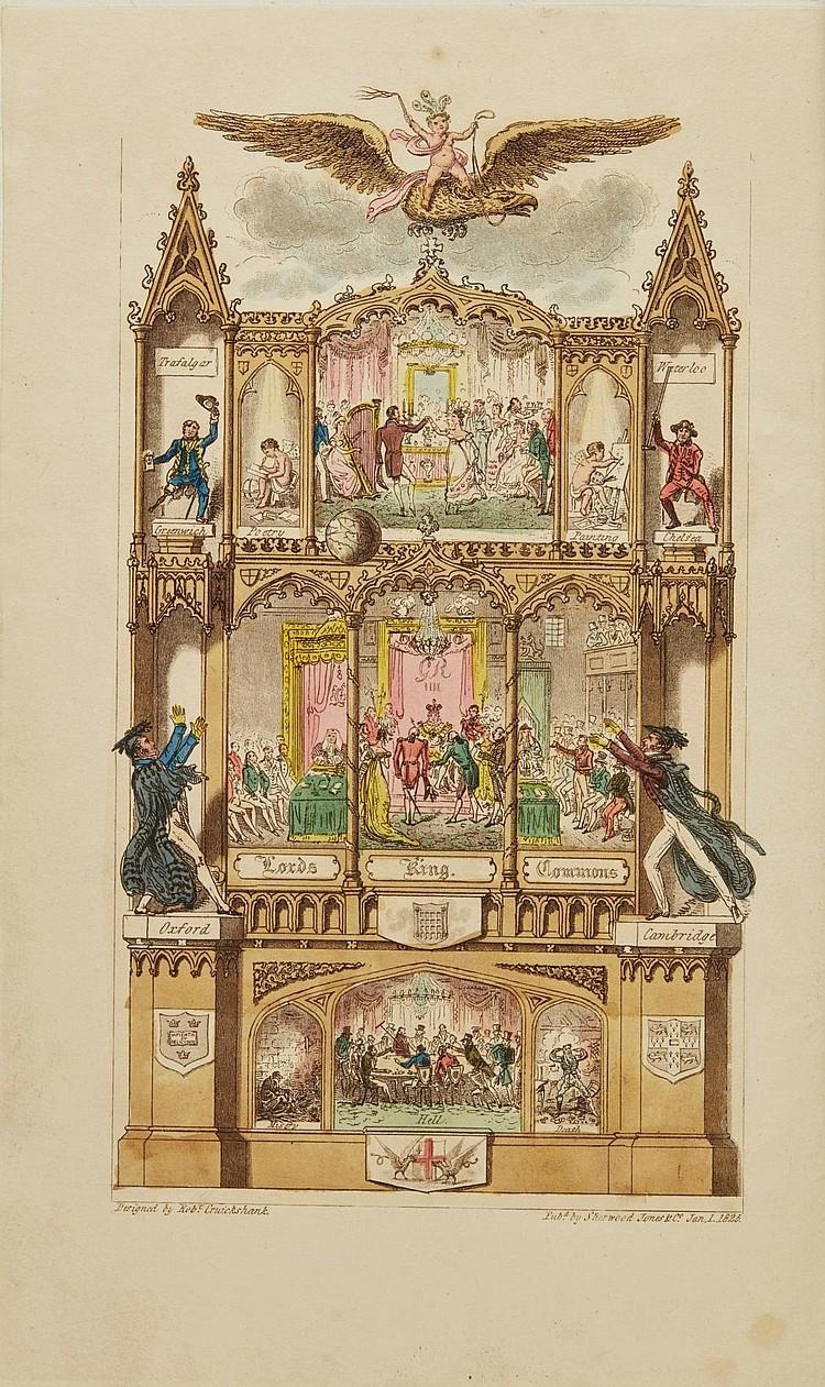 [WESTMACOTT, CHARLES MOLLOY]. THE ENGLISH SPY, 1825 (2 VOL.)