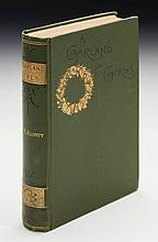 ALCOTT, LOUSIA MAY. A GARLAND FOR GIRLS, 1888 (1 VOL.)