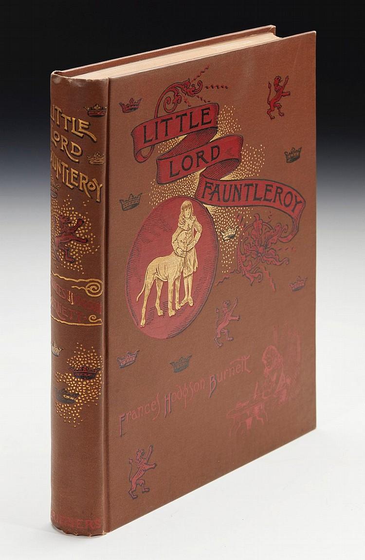 BURNETT, FRANCES HODGSON. LITTLE LORD FAUNTLEROY, 1886 (1 VOL.)