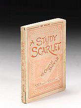 DOYLE, ARTHUR CONAN. A STUDY IN SCARLET, 1888 (1 VOL.)