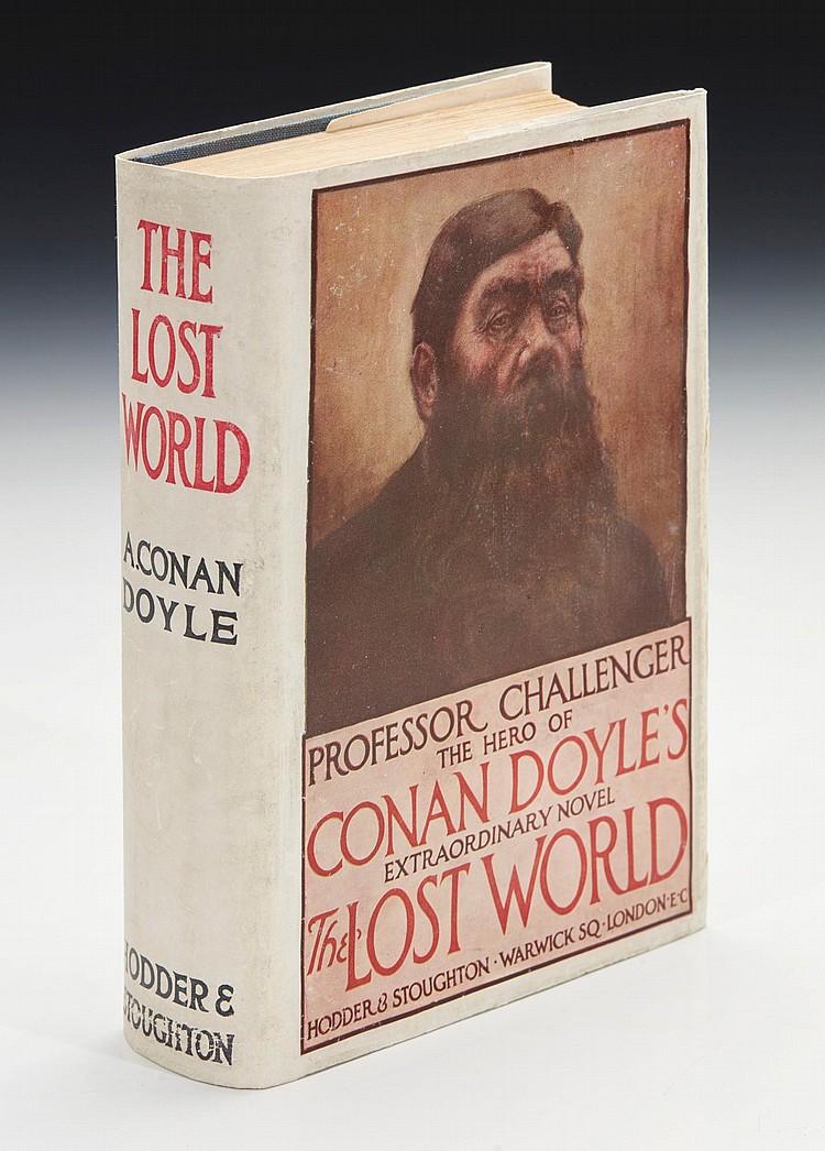 DOYLE, ARTHUR CONAN. THE LOST WORLD, 1912 (1 VOL.)
