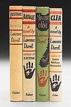 DURRELL, LAWRENCE. THE ALEXANDRIA QUARTET, 1957-1960 (4 VOL.)