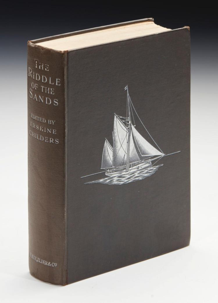 CHILDERS, ERSKINE. THE RIDDLE OF THE SANDS, 1903 (1 VOL.)