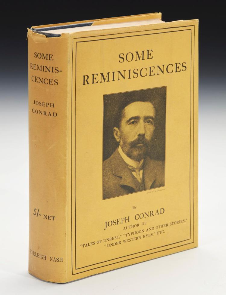 CONRAD, JOSEPH. SOME REMINISCENCES, 1912 (1 VOL.)