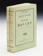 FLAUBERT, GUSTAVE. MADAME BOVARY, 1857, ORIGINAL WRAPPERS (2 VOL.)