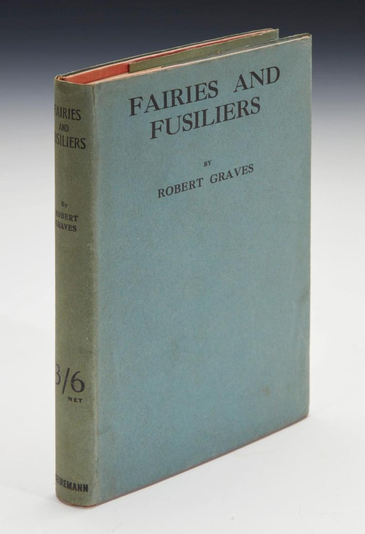 GRAVES, ROBERT. FAIRIES AND FUSILIERS, 1917 (1 VOL.)