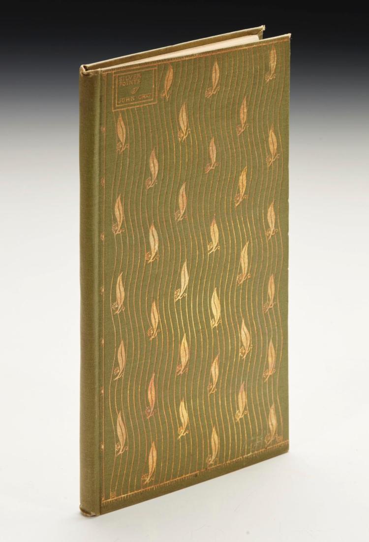 GRAY, JOHN. SILVERPOINTS, 1893 (1 VOL.)