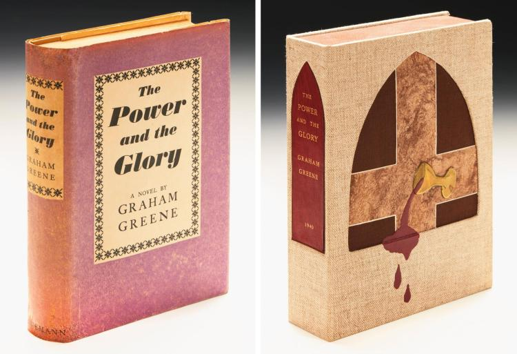 GREENE, GRAHAM. THE POWER AND THE GLORY, 1940 (1 VOL.)