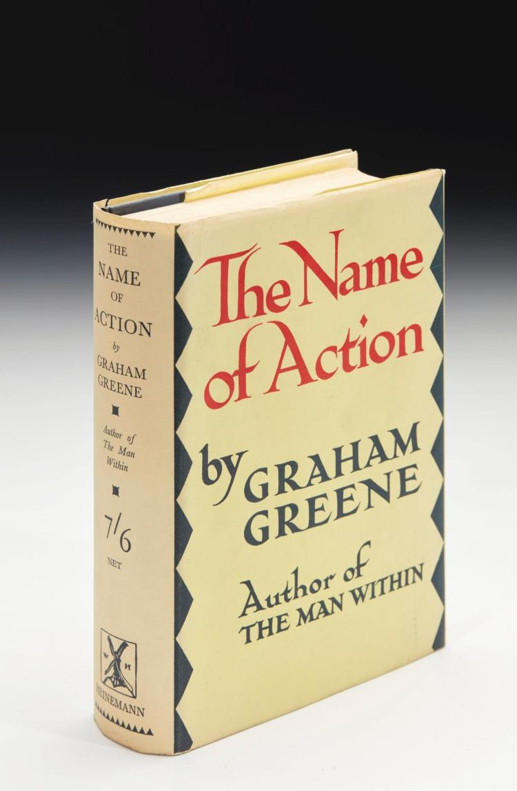 GREENE, GREENE. THE NAME OF ACTION, 1930 (1 VOL.)