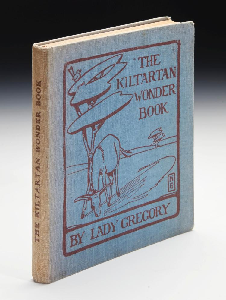 GREGORY, AUGUSTA. THE KILTARTAN WONDER BOOK, [1915], PRESENTATION COPY INSCRIBED BY THE AUTHOR (1 VOL.)