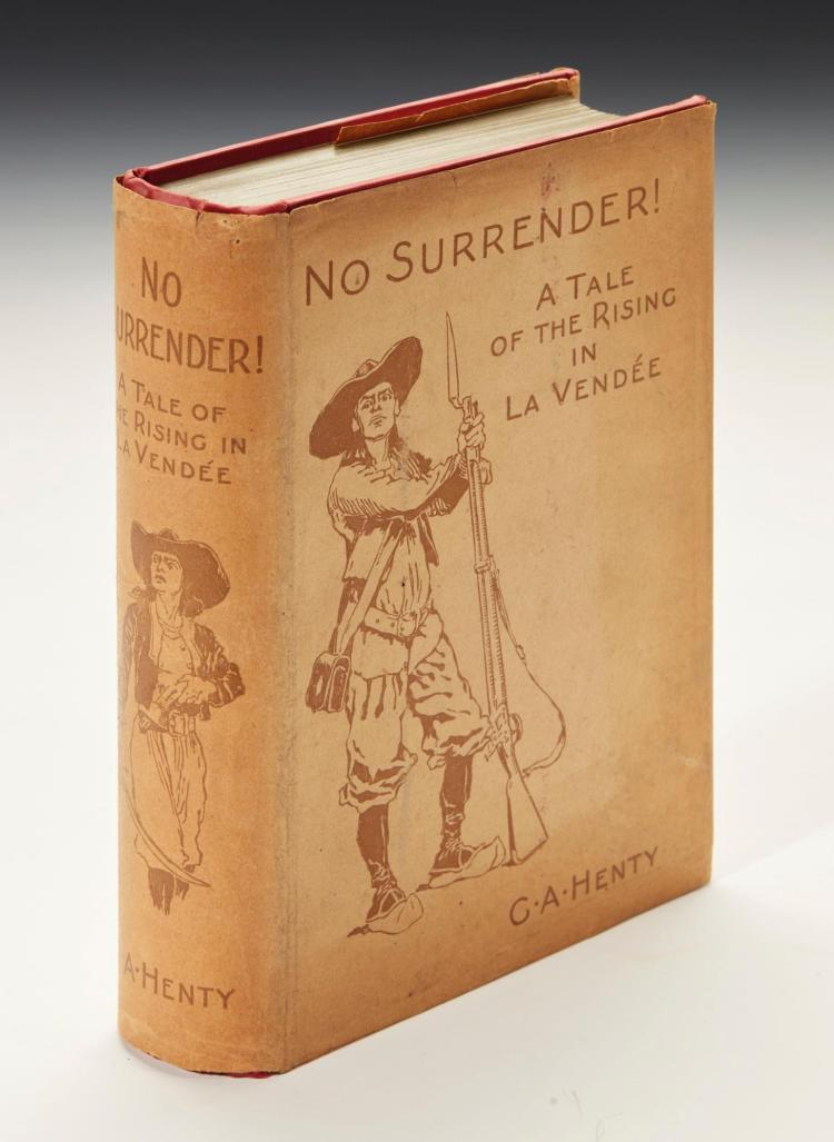 HENTY, G.A. NO SURRENDER!, 1900 [1899] (1 VOL.)
