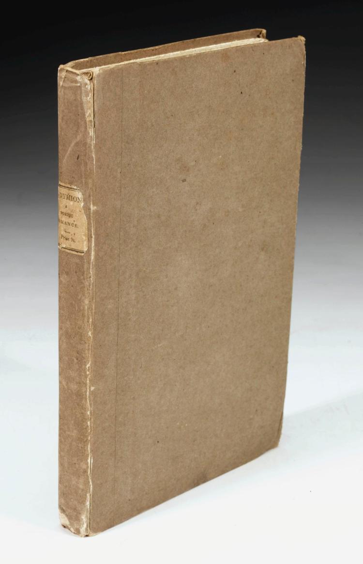 KEATS, JOHN. ENDYMION, 1818 (1 VOL.)