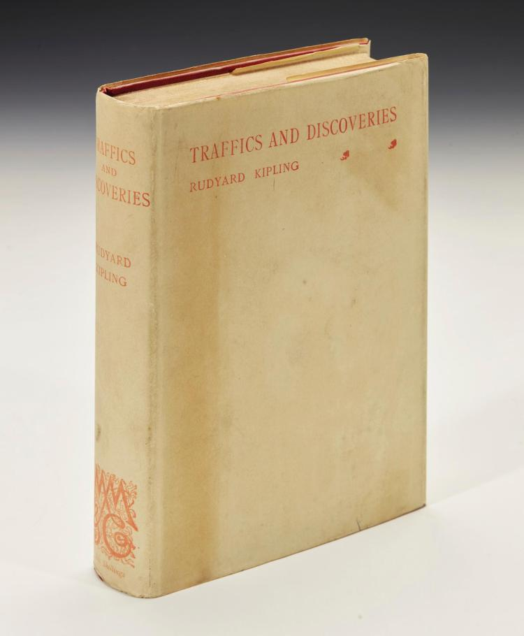 KIPLING, RUDYARD. TRAFFICS AND DISCOVERIES, 1904 (1 VOL.)