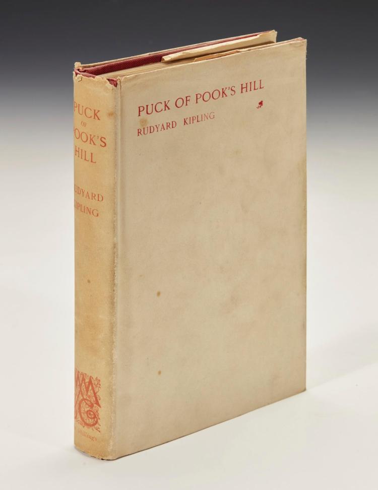 KIPLING, RUDYARD. PUCK OF POOK'S HILL, 1906 (1 VOL.)