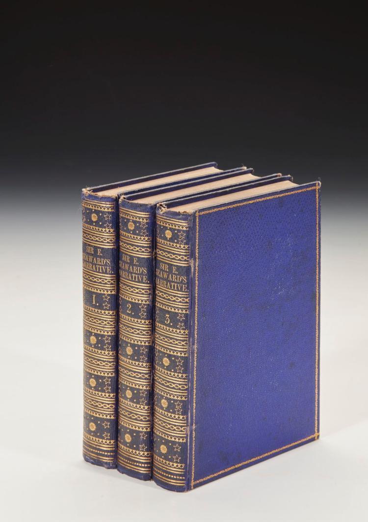 PORTER, JANE. SIR EDWARD SEAWARD'S NARRATIVE OF HIS SHIPWRECK, 1831 (3 VOL.)