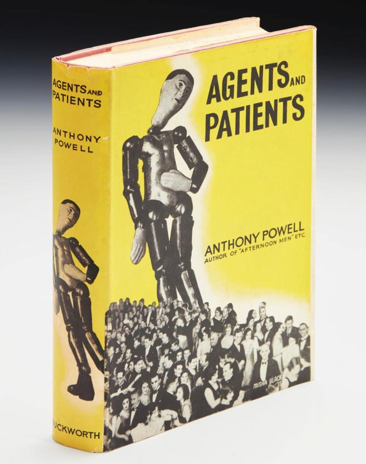 POWELL, ANTHONY. AGENTS AND PATIENTS, 1936 (1 VOL.)