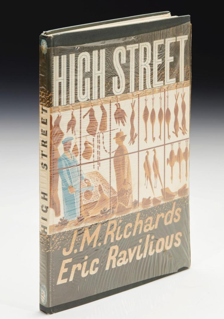 RICHARDS, J.M.--RAVILIOUS, ERIC. HIGH STREET, 1938 (1 VOL.)