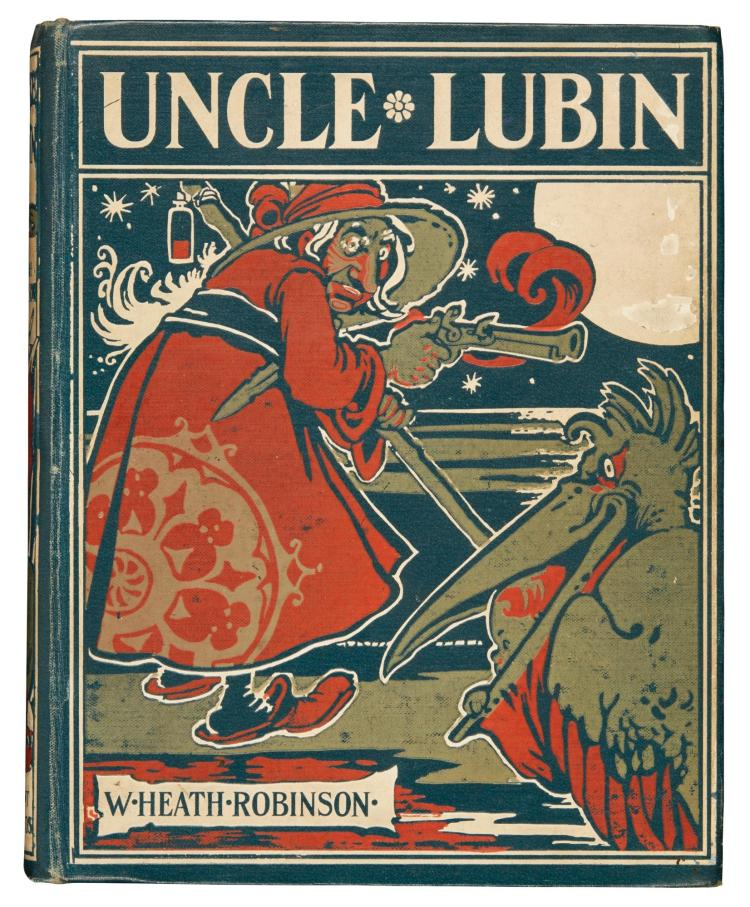 ROBINSON, W. HEATH. THE ADVENTURES OF UNCLE LUBIN, 1902 (1 VOL.)