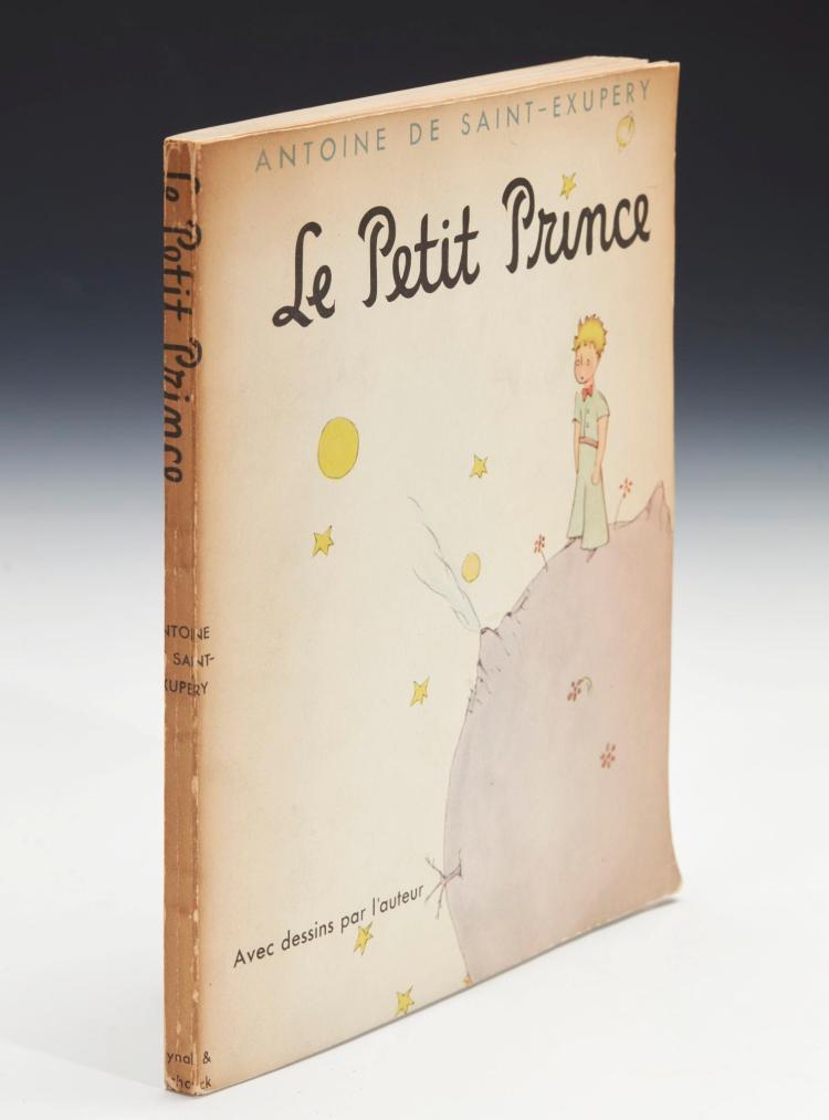 SAINT-EXUPÉRY, ANTOINE DE. LE PETIT PRINCE, 1943 (1 VOL.)