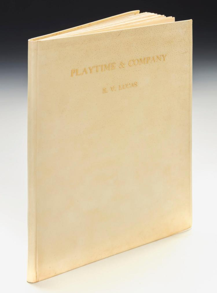 SHEPARD, E.H.--LUCAS, E.V., FOUR COPIES OF PLAYTIME & COMPANY, 1925 (4 VOL.)