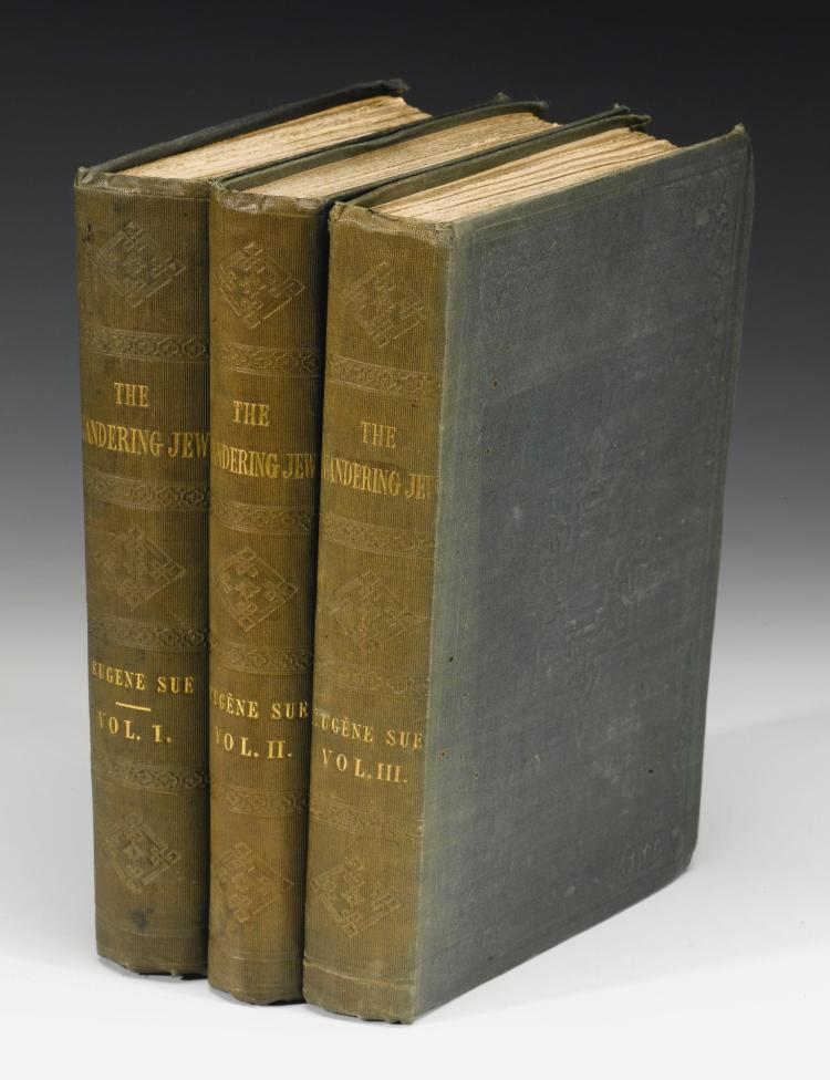 SÜE, EUGENE. THE WANDERING JEW, 1844-45 (3 VOL.)