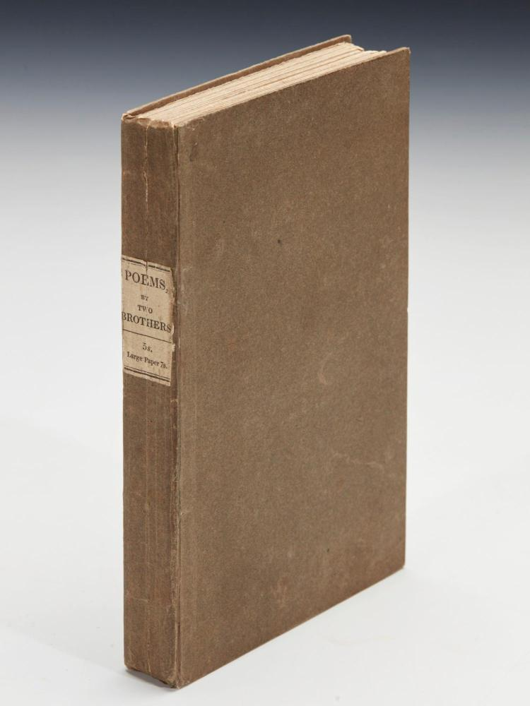 [TENNYSON, ALFRED AND CHARLES]. POEMS, BY TWO BROTHERS, 1827 (1 VOL.)