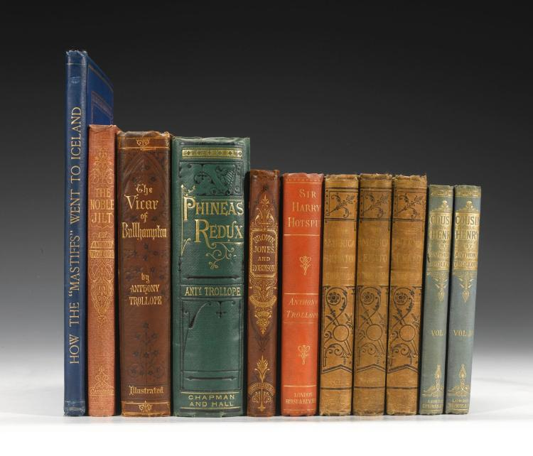 TROLLOPE, ANTHONY. FIRST EDITIONS OF 6 NOVELS WITH 2 OTHER WORKS (11 VOL.)