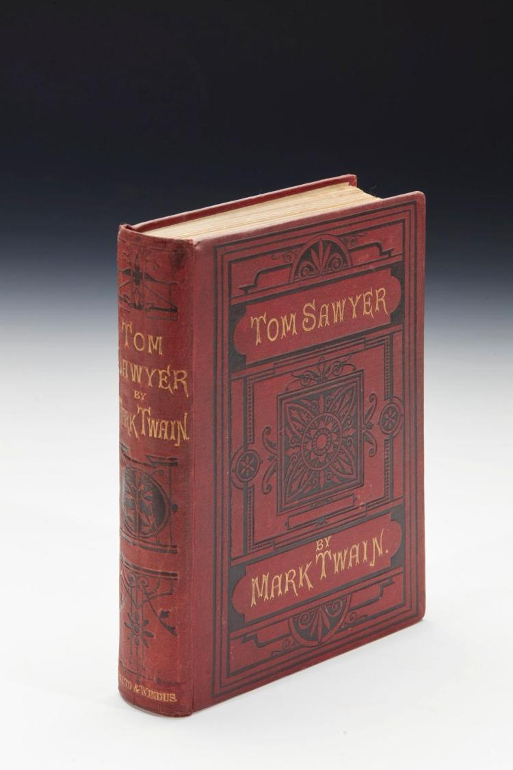 TWAIN, MARK [CLEMENS, S.L.] THE ADVENTURES OF TOM SAWYER, 1877 (1 VOL.)