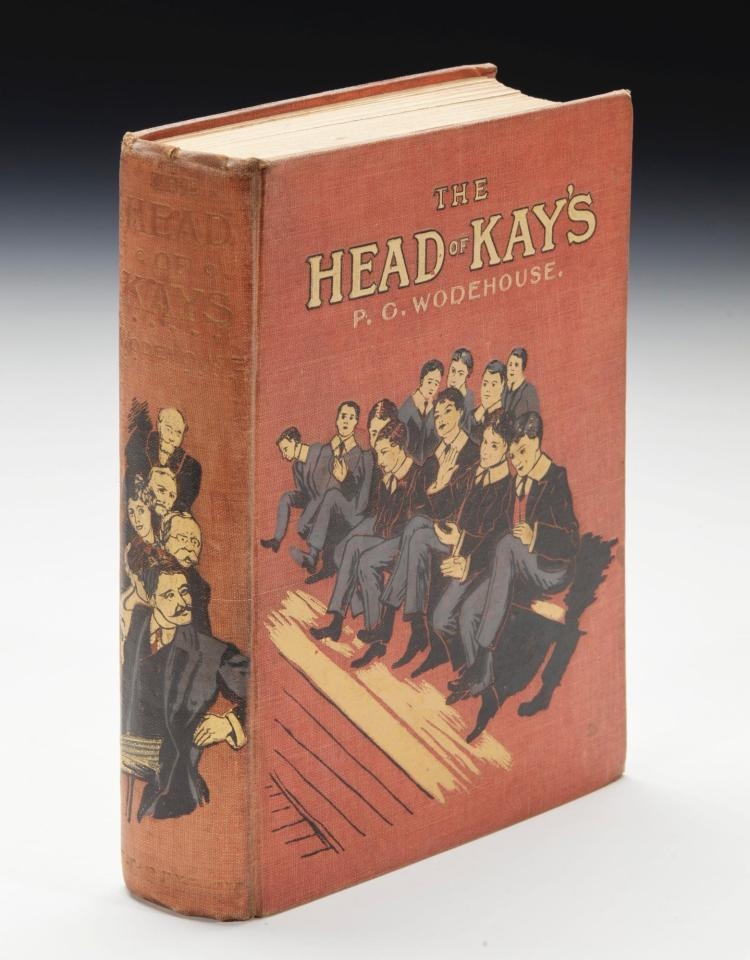 WODEHOUSE, P.G. THE HEAD OF KAY'S, 1905 (1 VOL.)