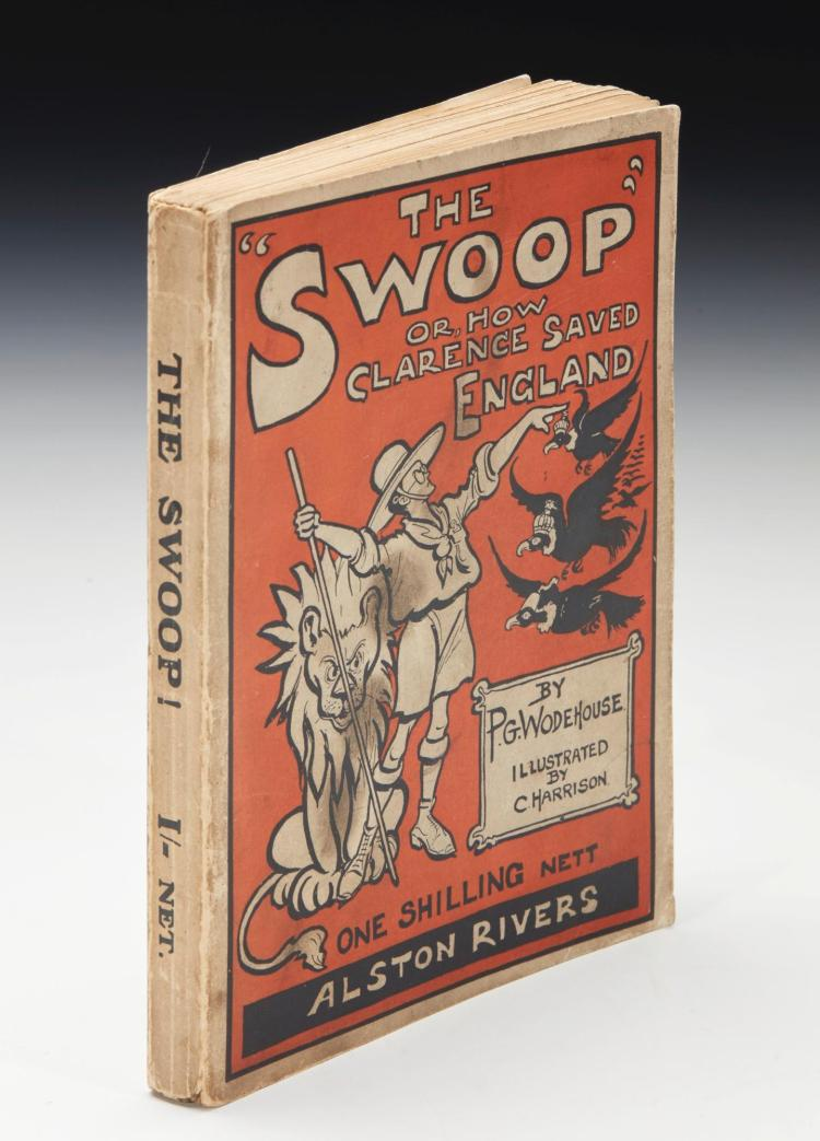 WODEHOUSE, P.G. THE SWOOP!, 1909 (1 VOL.)