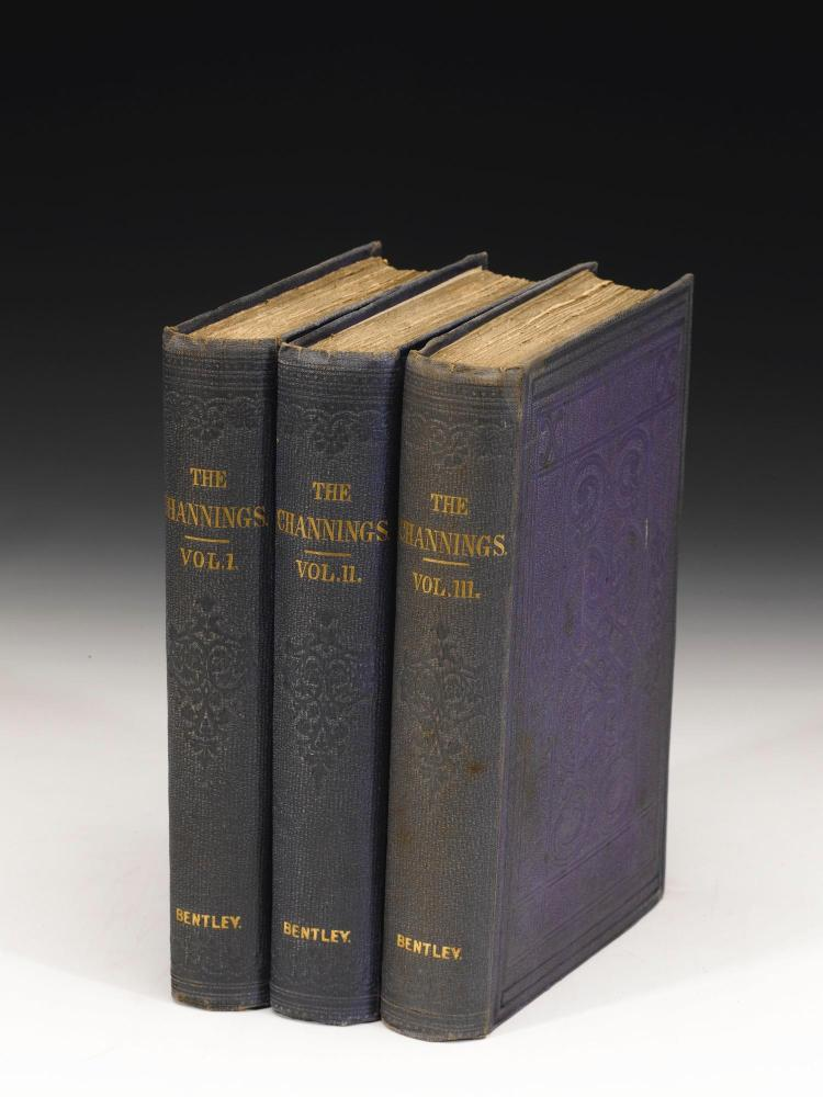 WOOD, MRS HENRY. 4 WORKS, 1862-1880 (12 VOL.)