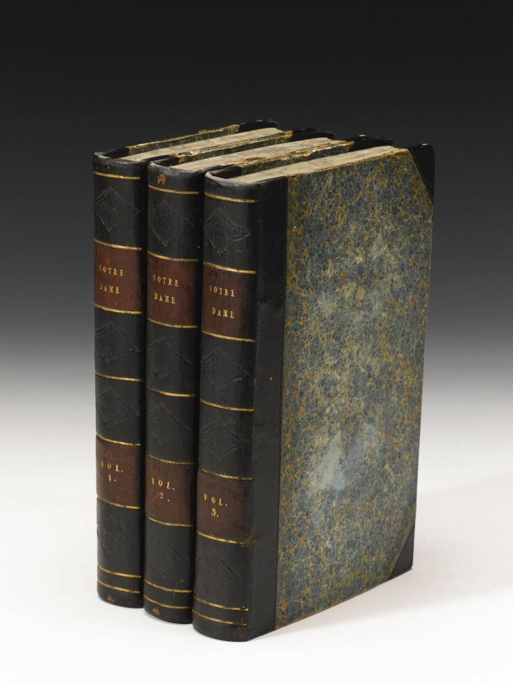HUGO, VICTOR. FIRST ENGLISH EDITIONS OF TWO WORKS, 1833-1870 (6 VOL.)