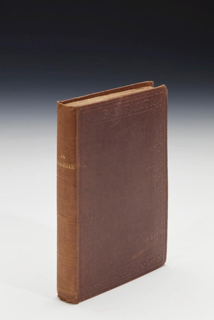 [TENNYSON, ALFRED]. IN MEMORIAM, 1850 (1 VOL.)