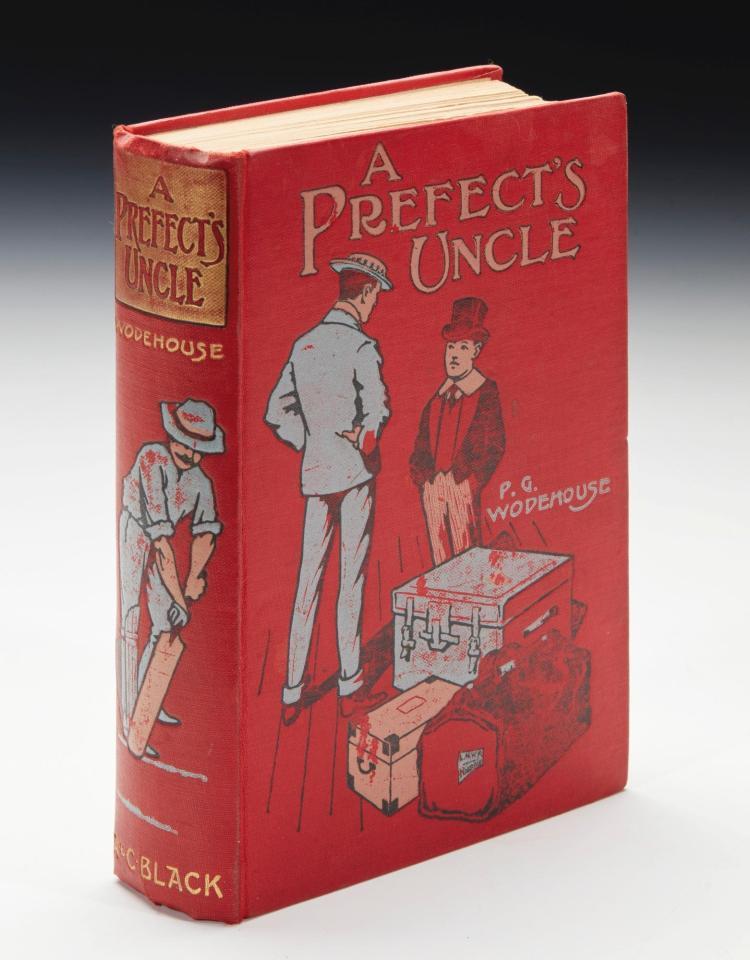 WODEHOUSE, P.G. A PREFECT'S UNCLE, 1903 (1 VOL.)