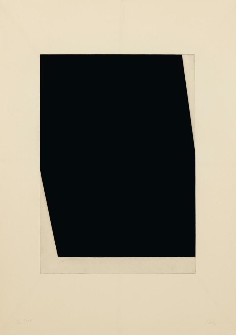 ELLSWORTH KELLY (1923-2015) | Concorde I (State) (Axsom 196a)