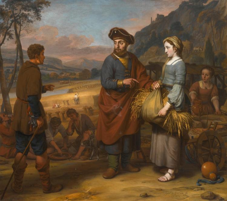 GERBRAND VAN DEN EECKHOUT   Ruth and Boaz