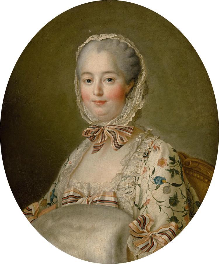 FRANÇOIS-HUBERT DROUAIS   Portrait ofJeanne-Antoinette Poisson, Marquise de Pompadour (1721-1764)