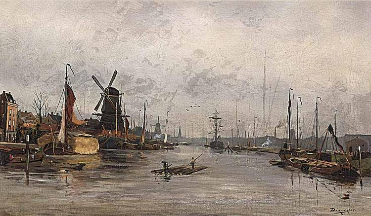 ANTON DIRCKX DUTCH 1878-1927