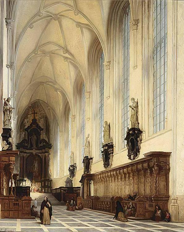 ANDRÉ JOSEPH MINGUET BELGIAN 1818-1860