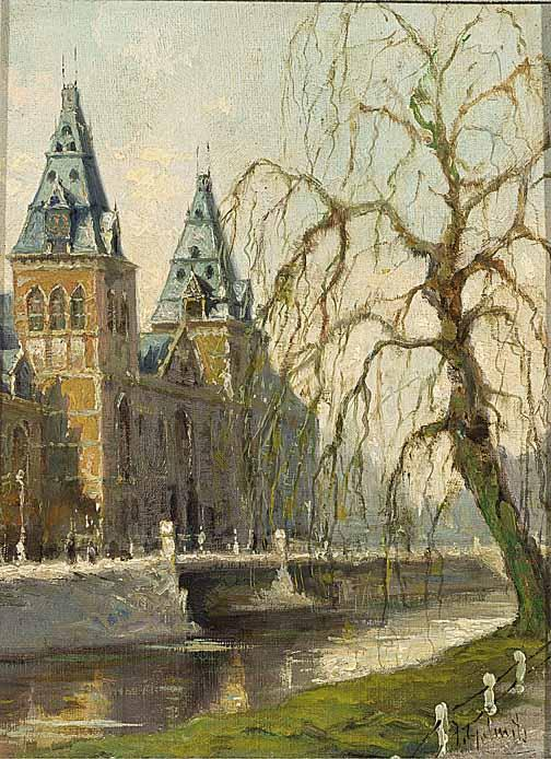 JOHAN GERARD SMITS DUTCH 1823-1910